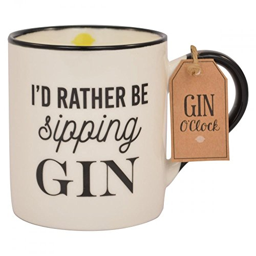 I'd Rather Be Sipping Gin Mug