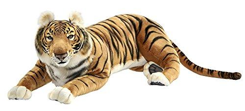 HANSA Peluche Tigre marrón Tumbado 100 CML