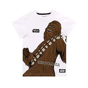 Star Wars Camiseta de Manga Corta para Niños Chewbacca La Guerra de Las Galaxias 11