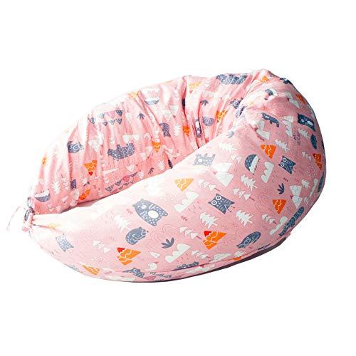 Begana Stillkissen Schwangerschaftskissen Lagerungskissen Seitenschläferkissen Mama Baby  Kissenbezug Reißverschluss Faserflocken Füllung weich