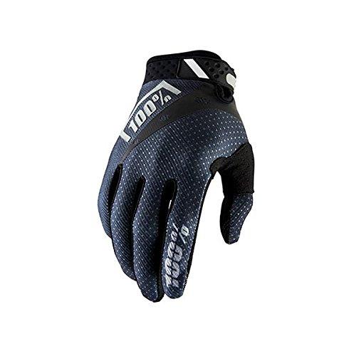 "100% Unisex-Adult Speedlab (10001-057-13)""RIDEFIT Glove Black-X-Large"