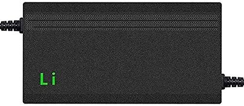 CRMY Cargador de batería para Scooter eléctrico de Iones de Litio de 46,2 V y 5 A, Adaptador de Corriente,Cargador de batería de Litio, Carga rápida, protección de Temperatura (Size : E)