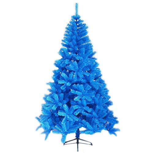DHFW Blue Artificial Árbol De Navidad, Montaje Fácil Árbol De Navidad Ignífugo U Otras Actividades Votivas PVC...