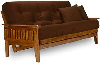 mainstays mission wood arm futon heirloom cherry instructions