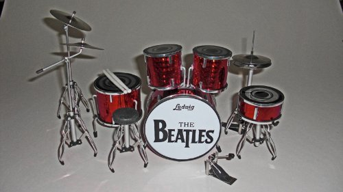 RGM304Ringo Starr Beatles Miniatur-Schlagzeug