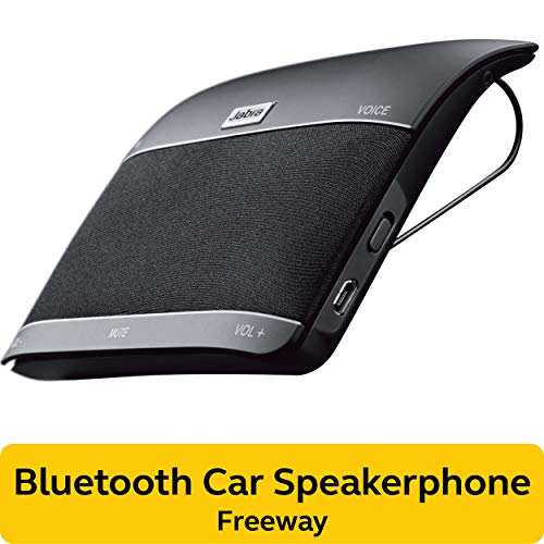 Jabra 100-46000000-02  Freeway Bluetooth In-Car Speakerphone (U.S. Retail Packaging)