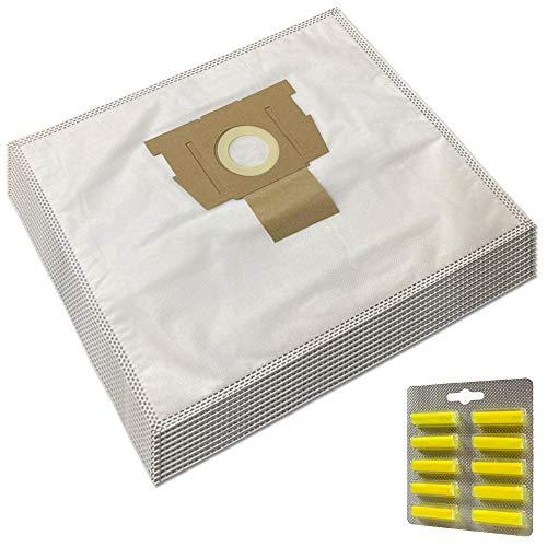 MohMus Set 10 Parfums + 10 Sacs Aspirateur pour Rowenta RO5729DA Silence Force Extreme Compact