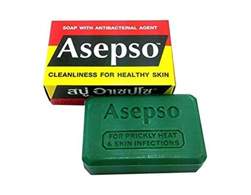 Asepso Original Jabón Antiséptico 80g UK (3 barras)