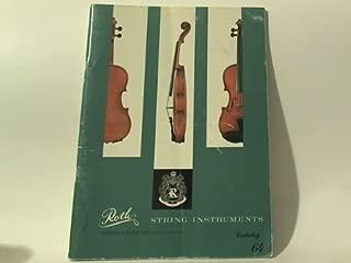 Roth String Instruments (Catalog, 64)