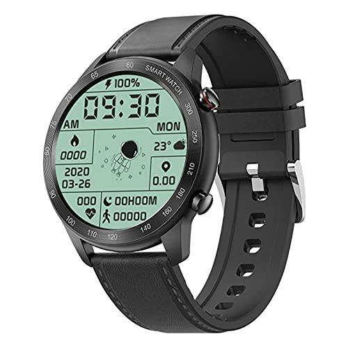 ZGNB MX5 Smart Watch, Chiamata Bluetooth, Riproduzione Musicale MTE, IP68 Impermeabile, Monitor per La Pressione Sanguigna, Fai da Te Smartwatch PK TK88 per Android iOS,G