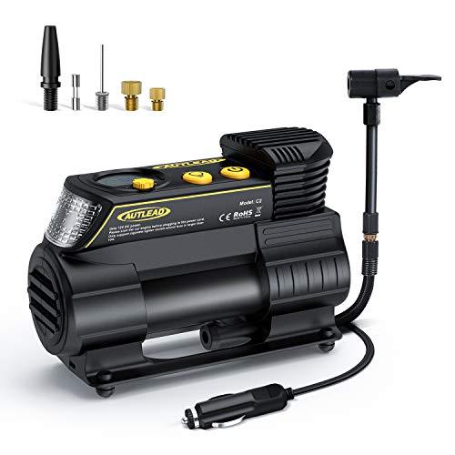 AUTLEAD C2 Compresor Aire Coche, 12V Auto Inflactor Ruedas Coche Embalado,...