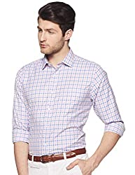 Park Avenue Mens Checkered Regular fit Formal Shirt