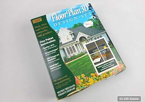IMSI FloorPlan 3D + 3D Gartendesigner + 1001 Vorlagen Software Paket, LESEN