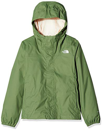 The North Face Y Resolve Reflective, Giacca Impermeabile Unisex Bambini, Verde (Four Leaf Clover), XL