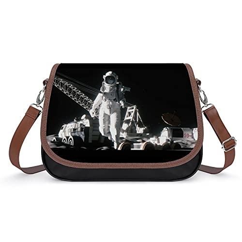Space Odyssey - Bolso de mano para mujer, estilo retro, bolso de hombro