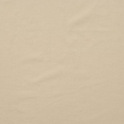 MIRABLAU DESIGN Stoffverkauf Baumwolle Batist sand beige Blusenstoff (1-114M), 0,5m