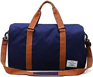 ボストンバッグ レディース スポーツバッグ 旅行バック ジムバッグ 一泊二日 多機能 防水 修学旅行 シューズ収納 大容量 軽量 斜めがけ 撥水 防水ポケット 30L シューズ巾着袋付 手提げ 肩掛けリュック型可能 キャンパスリュック