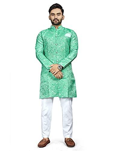 N.B.F Fashion Indo Western Sherwani Wedding Dress for Men Ethnic Wear