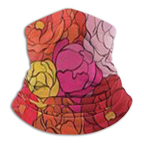 senob Basketweave Headwear Neck Guêtre Warmer Winter Ski Tube Scarf Mask Fleece Face Cover Windproof for Men Women Customized