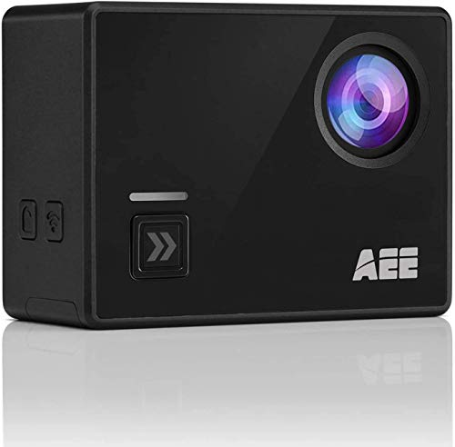 AEE Shadow Action Camera 4K 1080P HD 16MP with Touch Screen, 140° Wide Angle Lens with 4X Digital Zoom, 40m Portable Underwater Waterproof Sports Camera