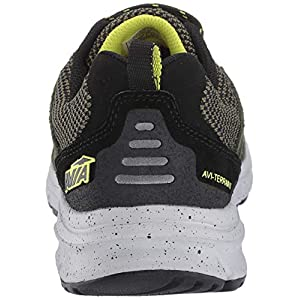 Avia Men's Avi-Terrain II Sneaker, Grape Leaf/Black/Sulpher Springs, 9.5 Wide US