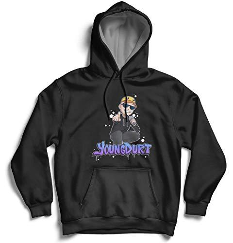 Count SoftWare Extensions VuxVux YoungDurt- Shirt - Long Sleeve - Crewneck Sweatshirt - Hoodie Sweatshirt - Merch Merchadise Clothes Apparel for Kids Men Women Black