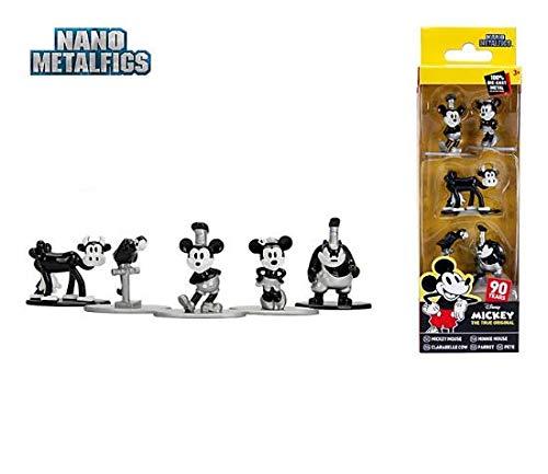 Official Disney Jada Mickey: Das wahre Original Die-Cast-Figurenset