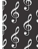 guitar tab notebook: 8.5'x11' (21.59x27.94cm), 120 pages, Gitarren-Tabulatur, intavolatura per...