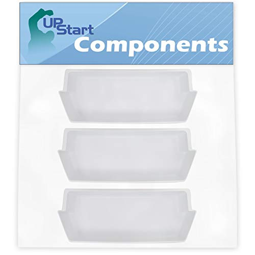 3-Pack 2187172 Refrigerator Door Bin Replacement for Whirlpool, Maytag & Kenmore Refrigerators - Compatible with Part Number AP6006028, 2187172K, 2187194, 2187194K, PS11739091