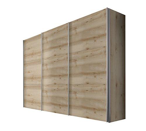 Express Möbel Kleiderschrank 300 cm Buche Nachbildung, BxHxT 300x236x68 cm, Art Nr. 46790-350