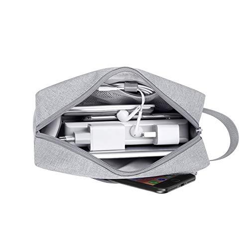 Asudaro Cable Bag Travel Gadget Storage Bag Portable Accesorios Electrónicos Digitales para...