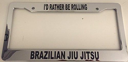 mma license plate frame - 5