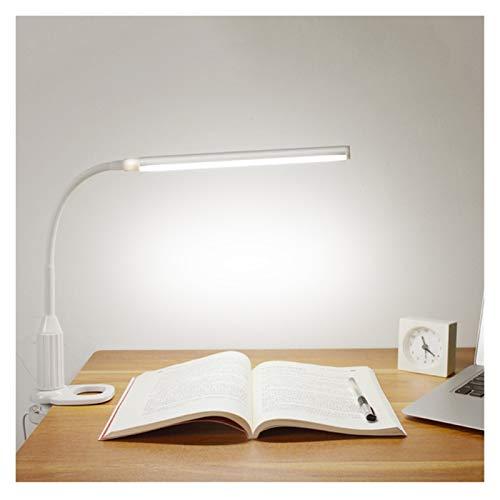 GBHD Luz USB 5W 24 LED de Protección de los Ojos Lámpara de Escritorio de Atenuación, Flexible USB Fuente de Alimentación con Sensor Táctil Control LED Lámpara de Escritorio Luz de Noche (Color