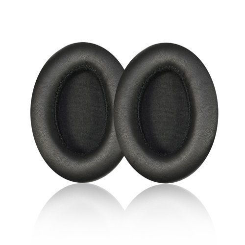 Replacement Earpad ear pad cushions For Monster beats by Dr. Dre Studio Headphones - Old Version (Not For Solo Headphones) With IT IS Logo Headphone Cable Cord Clip