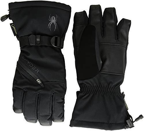 Spyder Herren Vital 3 in 1 Gore-tex Skihandschuh, schwarz/schwarz/schwarz, L