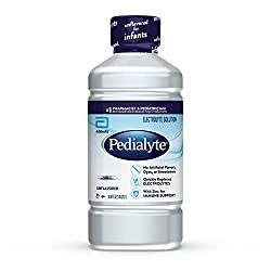 unflavored pedialyte electrolyte solution