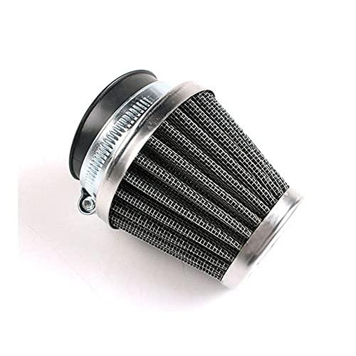 Inserto Filtro Aire Filtro Aire para Motocicleta Cabezal Seta Filtro Cápsula con Abrazadera Limpiador Aire Filtro Espuma Doble Accesorios para Motocicleta 35mm 39mm Filtro Admisión Aire