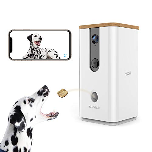 Pet Treat Tossing Camera