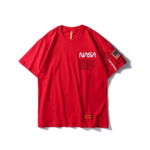 Hbche Camiseta Unisex de la NASA del Espacio del Astronauta de la Manga Corta...