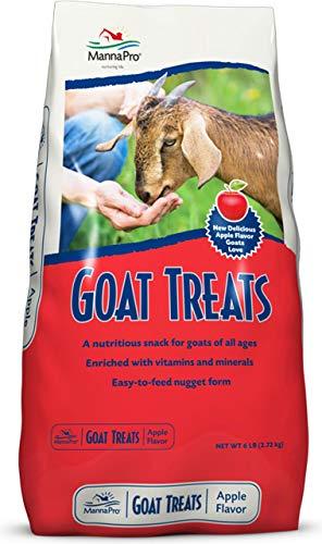 Manna Pro Goat Treats Apple +Pro Biotics, 5 lb
