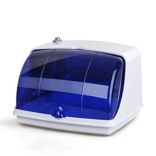 Sterilisator Box Professionelle Appareils électroménagers Salon LED UV Desinfektion Werkzeuge Reinigung Beauté Outils Nail Art Plus Équipement Scientifique Santé White+Blue-European standard 220V