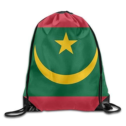 Daisylove Rucksack mit Kordelzug, Mauretanien-Flagge