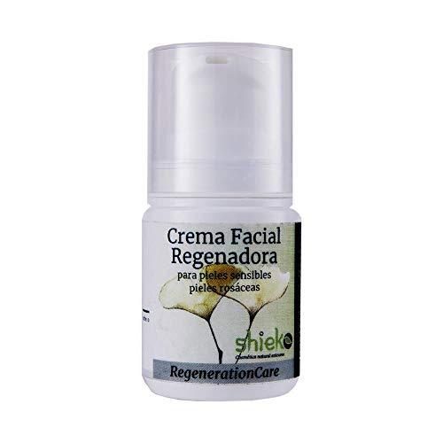 Shieko Crema regeneradora facial orgánica para piel rosácea, 50 ml