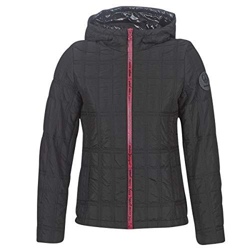 Desigual Edimburgo Mäntel Damen Schwarz - DE 36 (EU 38) - Daunenjacken Outerwear