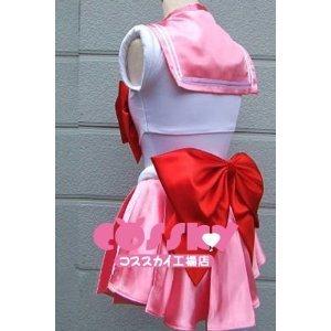 『男性M 美少女戦士 セーラーちびムーン ちびうさ コスプレ衣装』の3枚目の画像