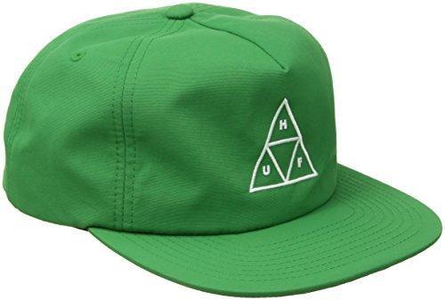 HUF Gorra Triangle Nylon Snapback de Beisbol (Talla única - Verde)