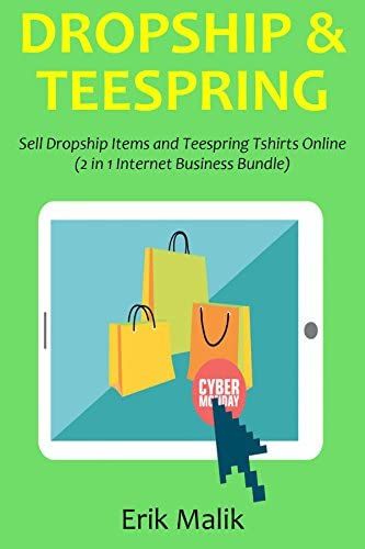 DROPSHIP TEESPRING Sell Dropship Items and Teespring Tshirts Online 2 in 1 Internet Business product image