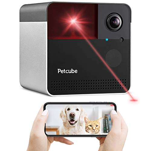 [New 2020] Petcube Play 2 Wi-Fi Pet Camera with Laser Toy & Alexa Built-In,...