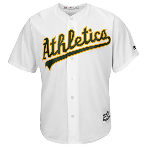 Majestic Oakland Athletics A's Cool Base MLB Maillot en jersey Blanc Taille XL
