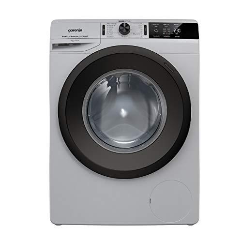 Gorenje WEI 843 PA Waschmaschine/Silber/A+++/8 kg/Automatikprogramm/Schnellwaschprogramm/Energiesparmodus
